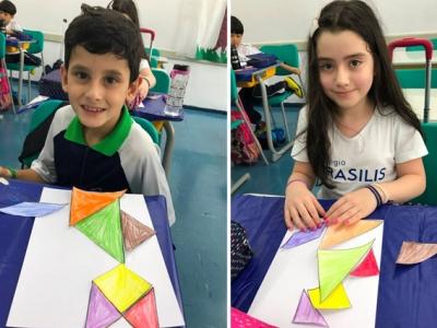Tangram para trabalhar Geometria