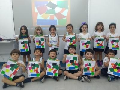 Obra de arte na Educação Infantil