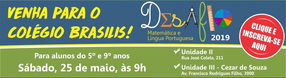 Desafio de Matemática e Língua Portuguesa - 2019